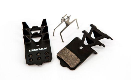 Placute Frana Semi Metalice Fibrax Ash977f Dreptunghiulare