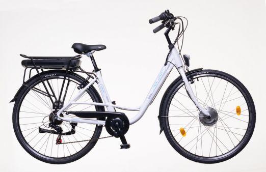 Bicicleta Electrica Neuzer E Trekking Dama 28