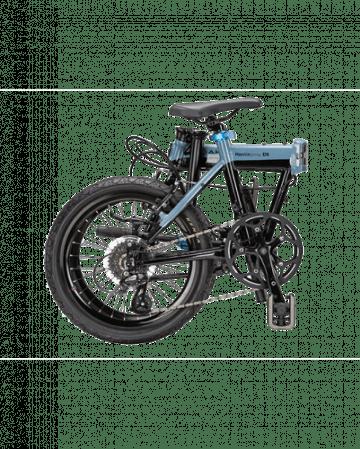 Bicicleta Pliabila Dahon Hemingway D9s Blue Gray