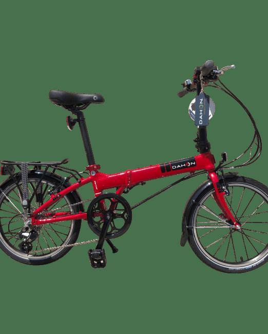 Bicicleta Pliabila Dahon Mariner D8 Dark Red
