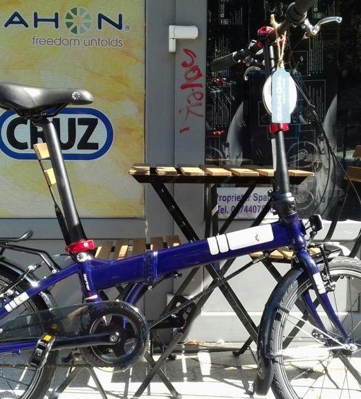 Bicicleta Pliabila Dahon Mariner I3 Dark Blue