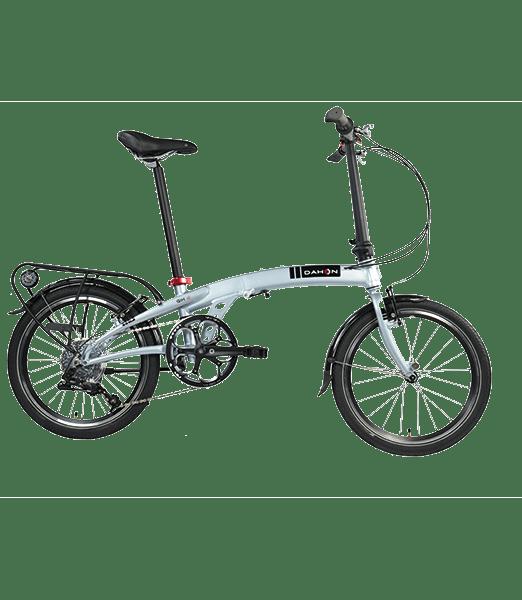 Bicicleta Pliabila Dahon Qix D8u Brillant Silver