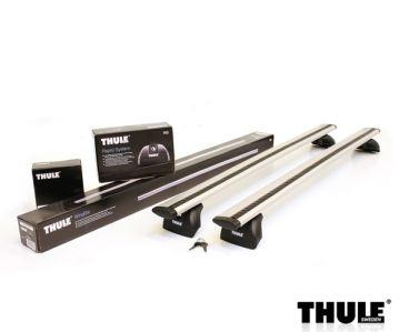 Bare Transversale Auto Thule Aluminiu Wingbar+rapid System 753+kit 40..