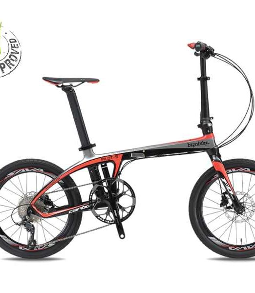 Bicicleta Pliabila Carbon Bizobike Pilot 9