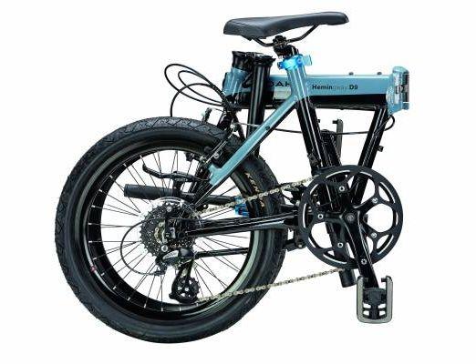 Bicicleta pliabila Dahon Hemingway D9s blue gray 1