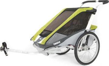 Carucior Bicicleta Copii Thule Chariot Cougar 1+ Cycle Avocado