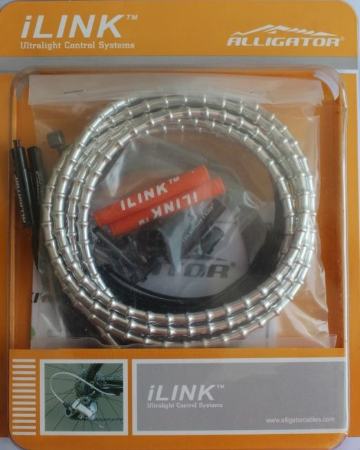 Set Cablu Frana Ilink Alligator Ilinkb, Ø5, Universal, Argintiu, Tub Ptfe+invelis Ilink+accesorii