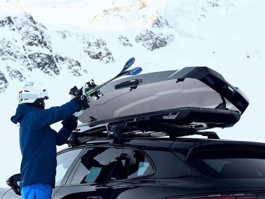 Cutie portbagaj auto Thule Vector Alpin Negru Metalic