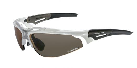 Ochelari Shimano Ce S70r Ph Metallic White, Lentile Photochromic Brown/clear (11)