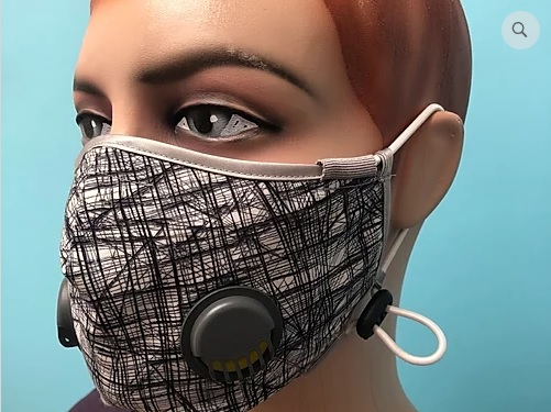 Masca bicicleta filtranta antibacteriana