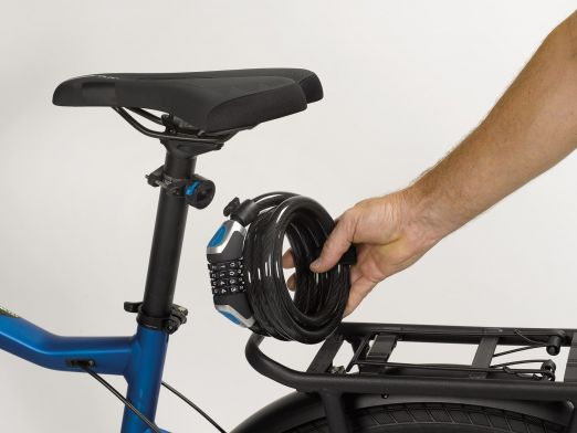 Antifurt Bicicleta cu Cifru XLC Joker,12mm:1850mm 1
